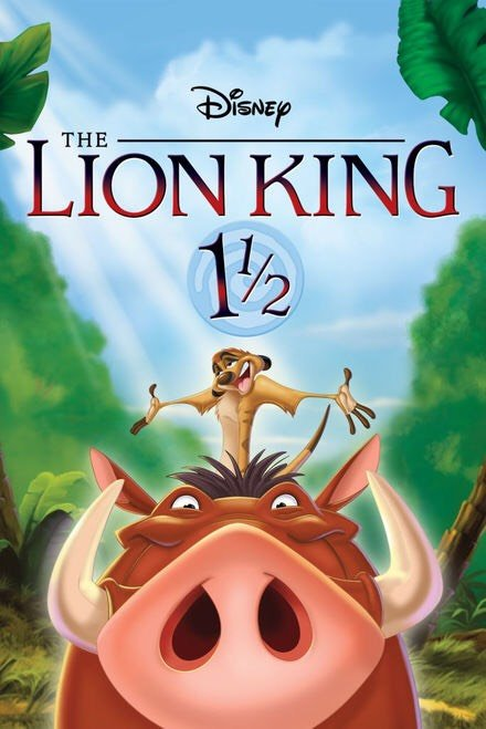 Lion King 1 1/2 Vudu or Movies Anywhere HD redeem only