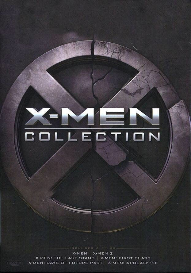 X-Men 6 Movie Collection Vudu or Movies Anywhere HD code