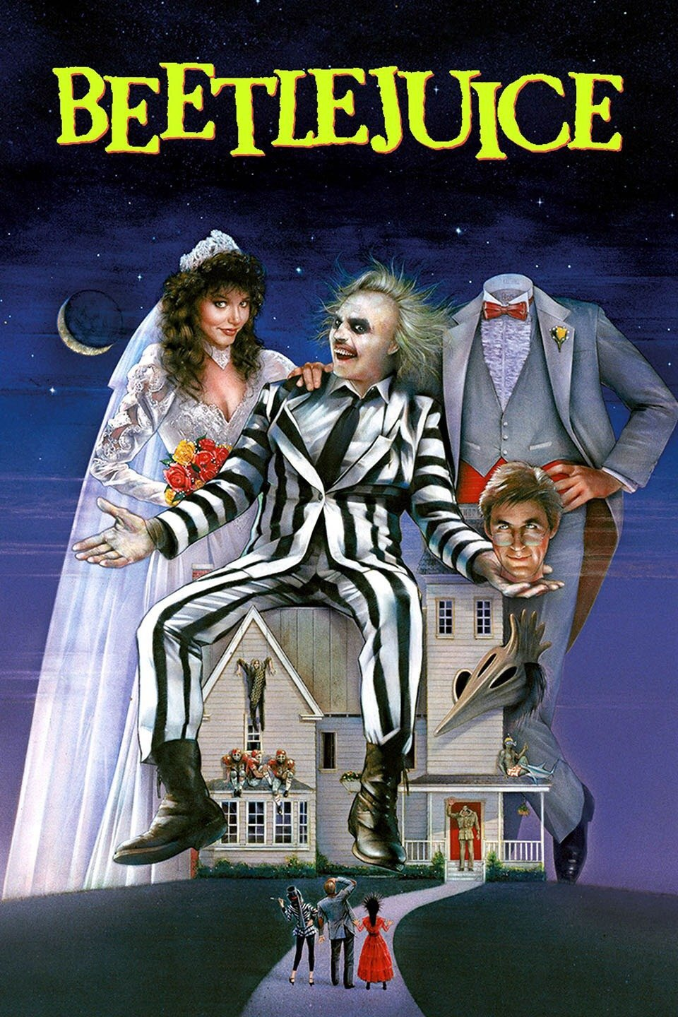Beetlejuice Vudu or Movies Anywhere HD code