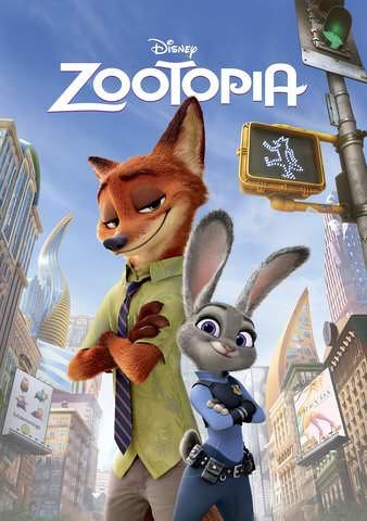 Zootopia (2016) Vudu or Movies Anywhere HD redemption only