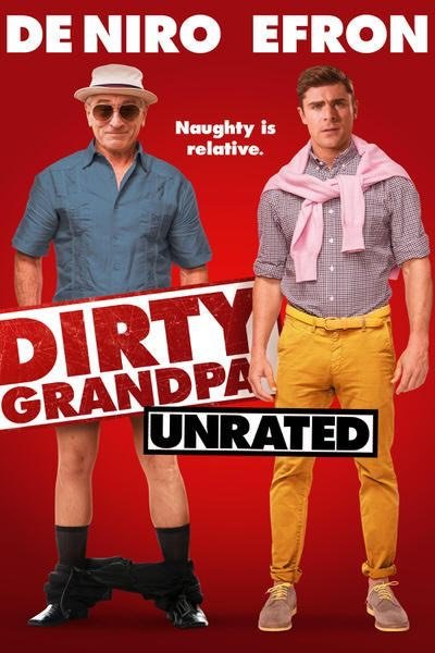 Dirty Grandpa iTunes HD redemption only