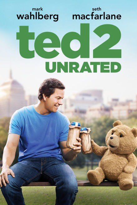 Ted 2 (unrated) iTunes HD redemption only