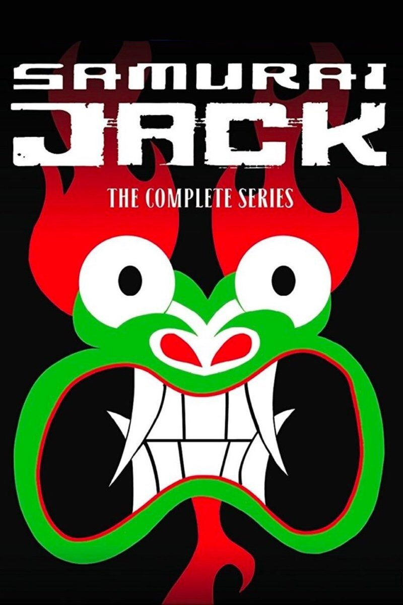 Samurai Jack The Complete Series vudu HD code