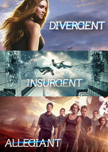 The Divergent Series 3-Film Collection Vudu HD code