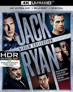 Jack Ryan 5 Film Collection iTunes 4K redeem only