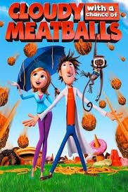 Cloudy with a Chance of Meatballs Vudu or Movies Anywhere HD code