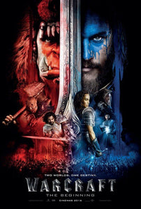 Warcraft Vudu or Movies Anywhere HD redemption only