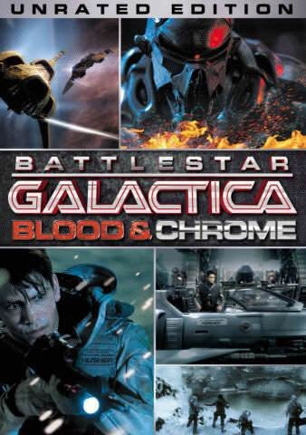 Battlestar Galactica Blood and Chrome (unrated) vudu HD redeem only