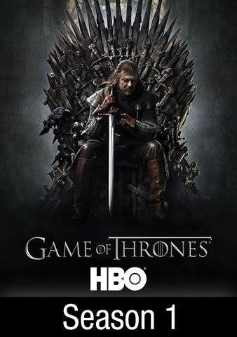 Game Of Thrones Season 1 iTunes HD redeem only