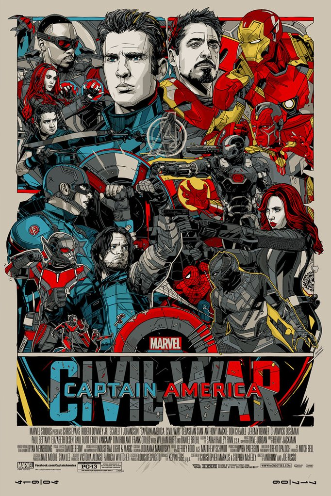 Captain America: Civil War Vudu or Movies Anywhere HD redemption only