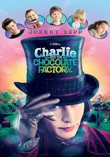 Charlie and the Chocolate Factory Vudu or Movies Anywhere HD code