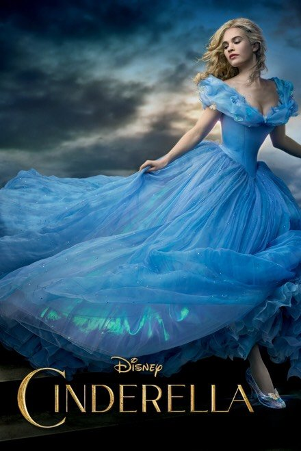 Cinderella (2015) Vudu or Movies Anywhere HD redemption only