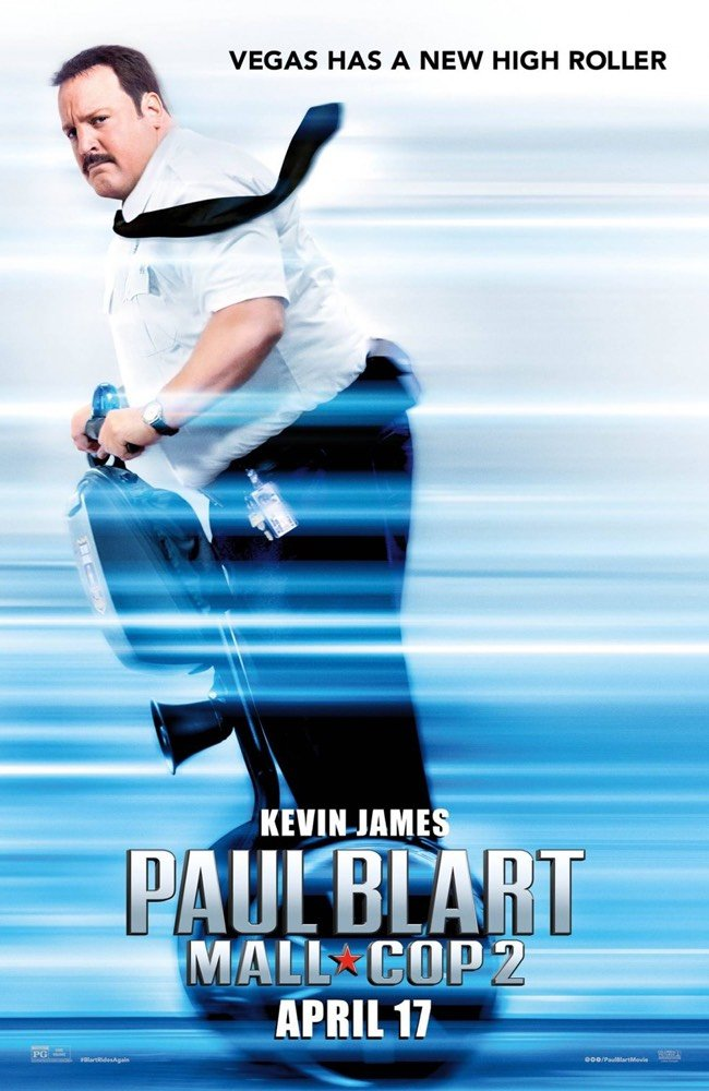 Paul Blart Mall Cop 2 Vudu or Movies Anywhere HD code