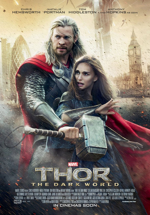 Thor The Dark World Vudu or Movies Anywhere HD redeem only