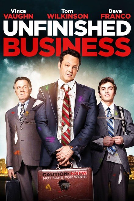 Unfinished Business Vudu or Movies Anywhere HD code