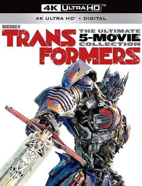 Transformers 5 Movie Collection vudu 4K redeem only