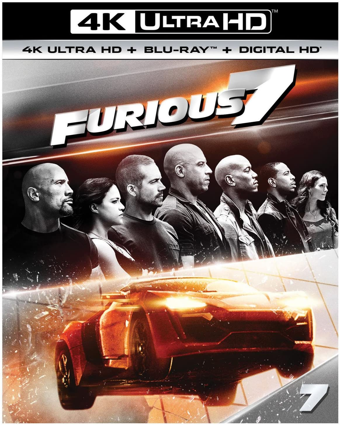 Furious 7 Extended Edition iTunes 4K redemption only