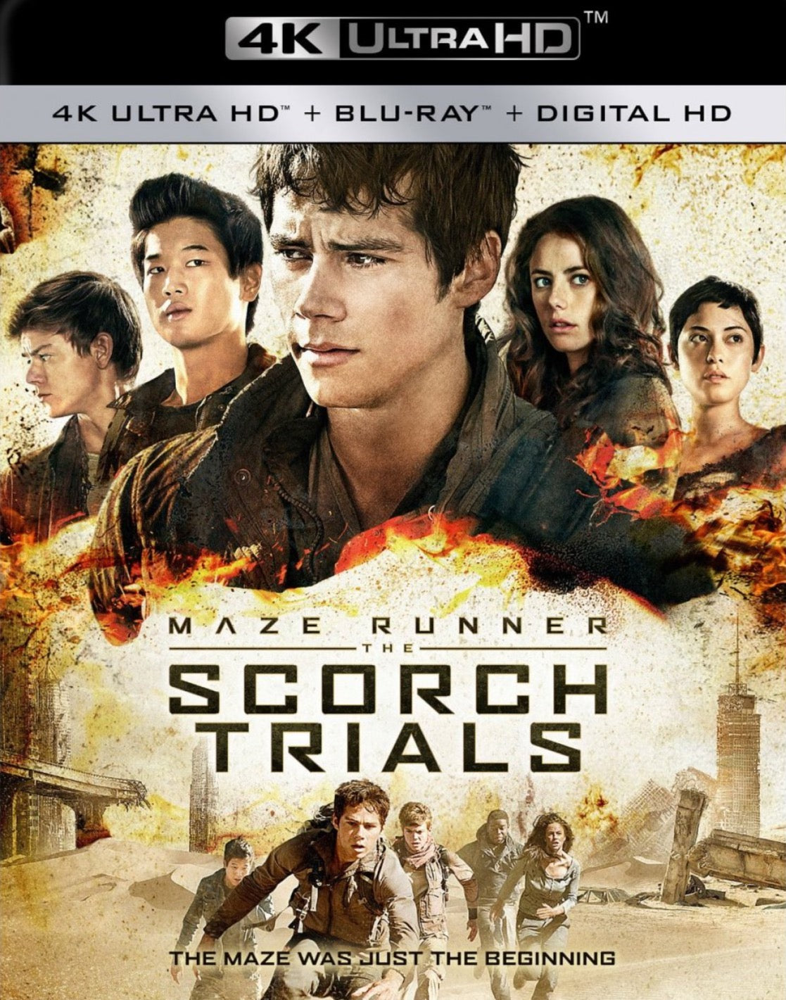 Maze Runner: The Scorch Trials (2015: Ports Via MA) iTunes 4K or Vudu / Movies Anywhere HD code