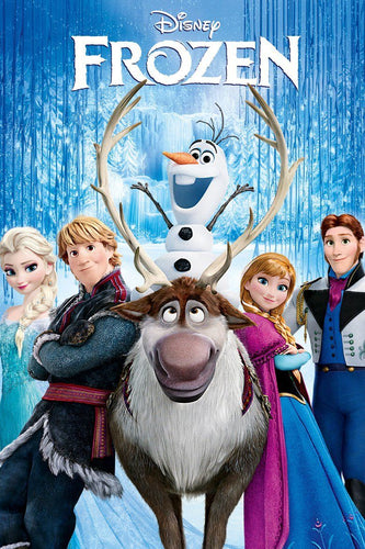 Frozen (2013) Vudu or Movies Anywhere HD code