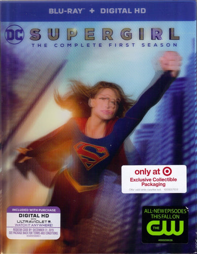 Supergirl: The Complete First Season (2015-2016) Vudu HD code