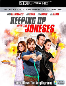 Keeping Up with the Joneses (2016) iTunes 4K or Movies Anywhere HD code