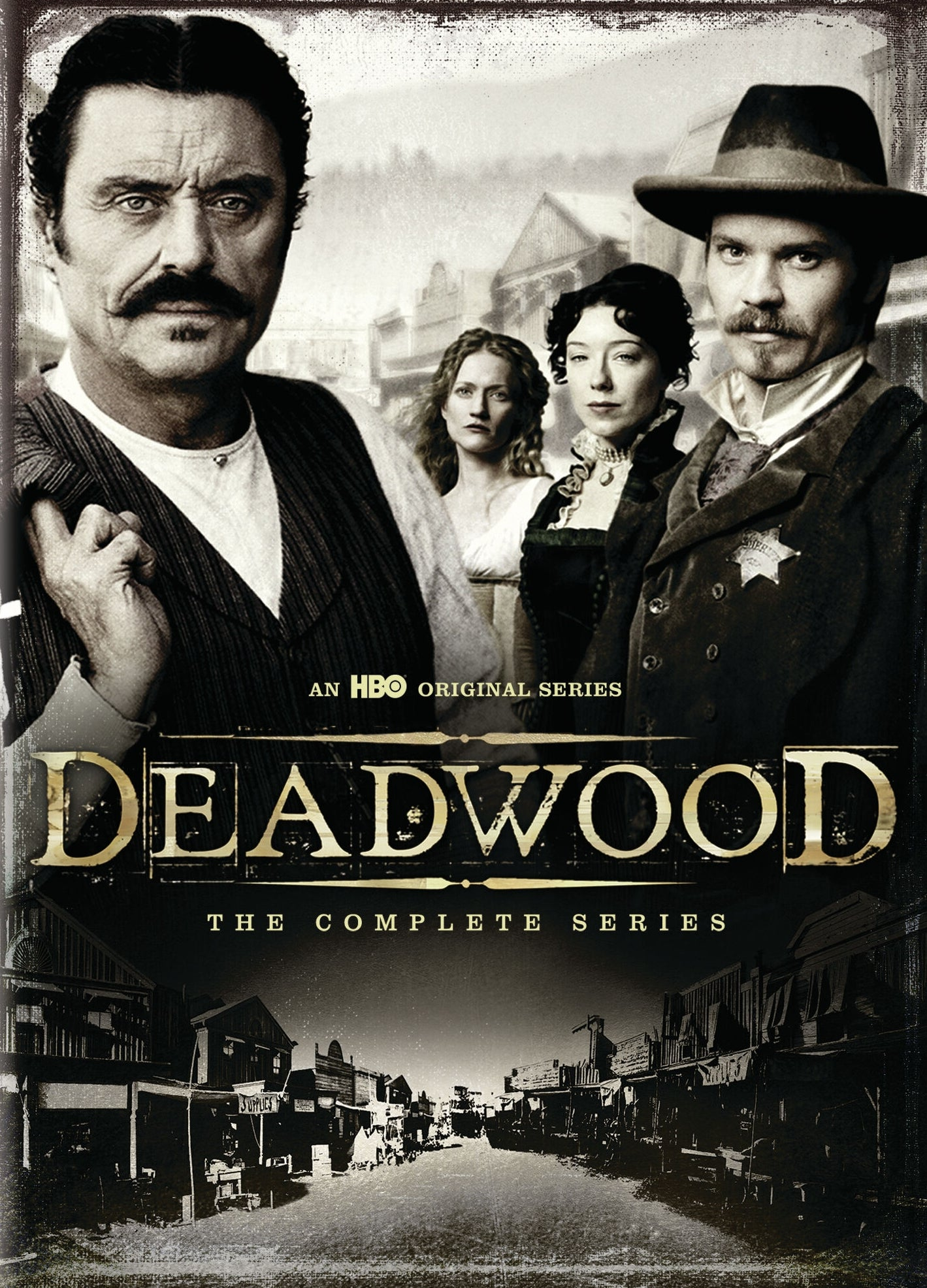 HBO's Deadwood: The Complete Series Bundle (2004-2006) Vudu HD redemption only