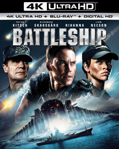 Battleship (2012) Vudu or Movies Anywhere 4K code