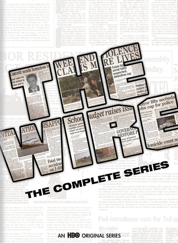 HBO's The Wire: The Complete Series Bundle (2002-2008) iTunes HD redemption only