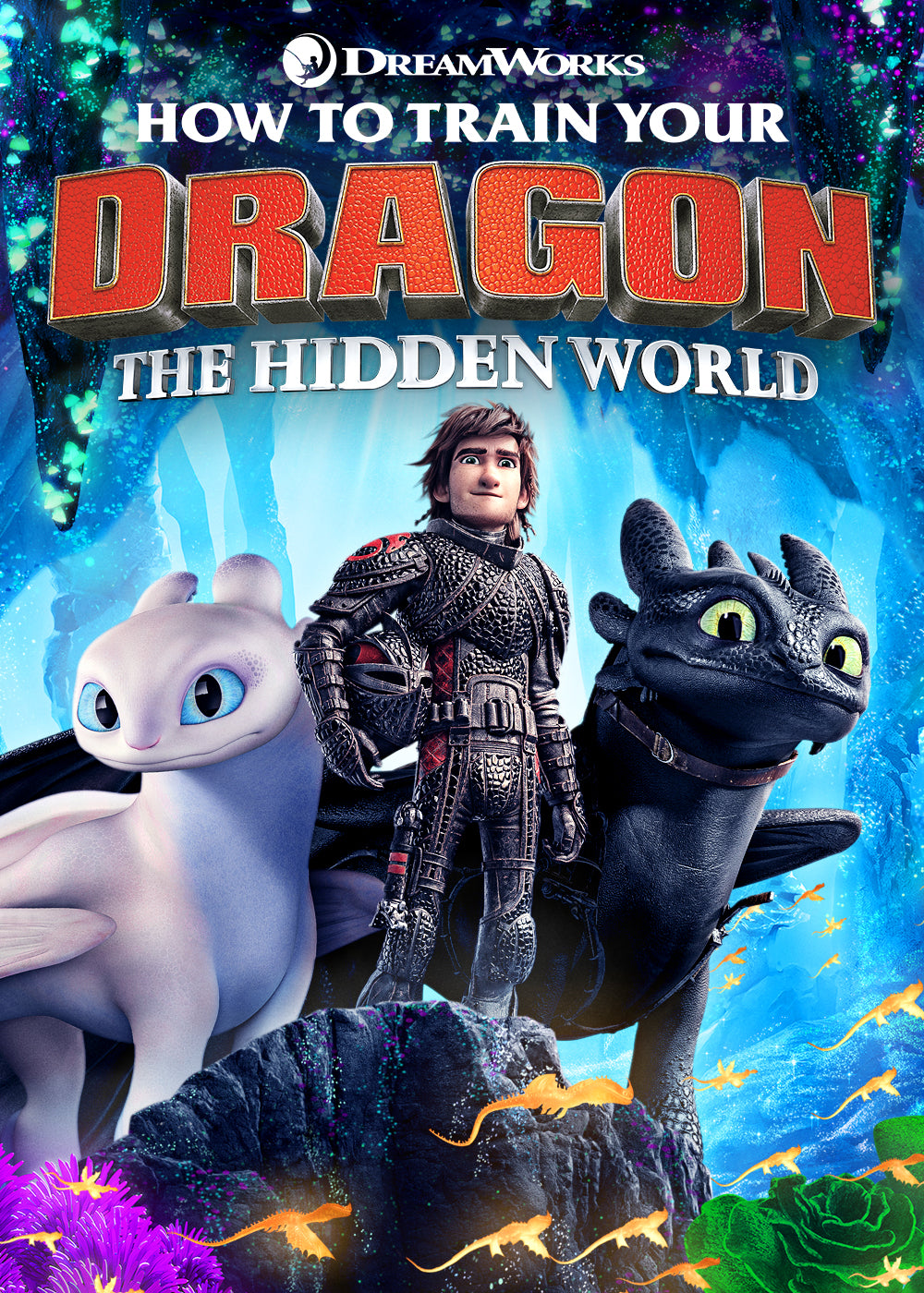 How To Train Your Dragon: The Hidden World (2019) Vudu or Movies Anywhere HD code