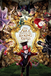 Alice: Through The Looking Glass (2016) Vudu or Movies Anywhere HD redemption only