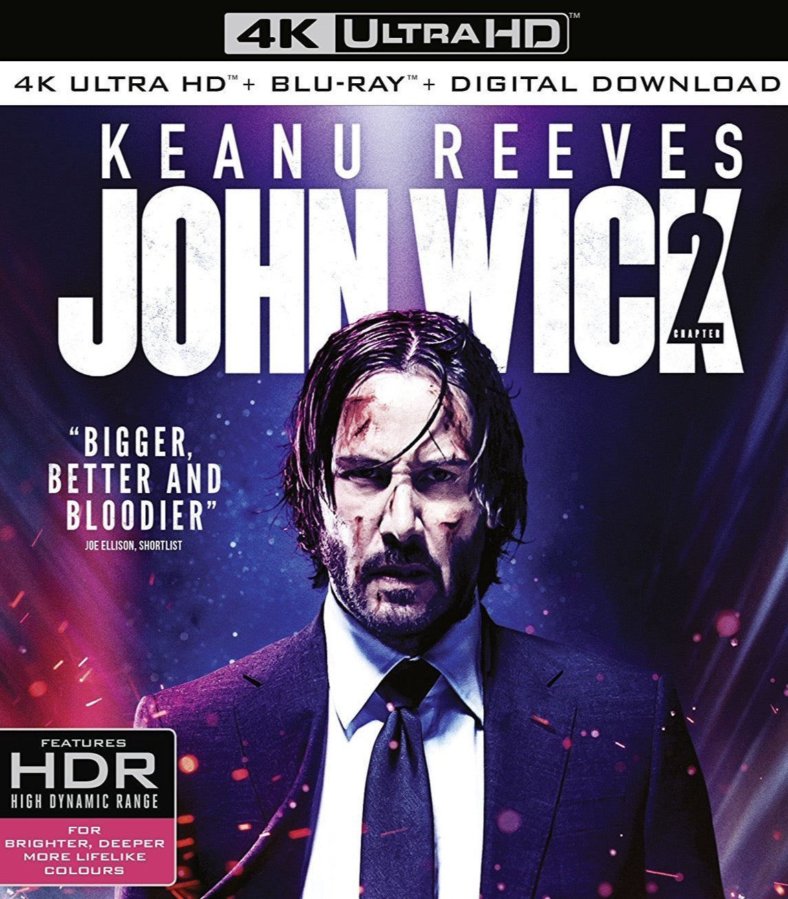 John Wick: Chapter Two (2017) Vudu 4K redemption only