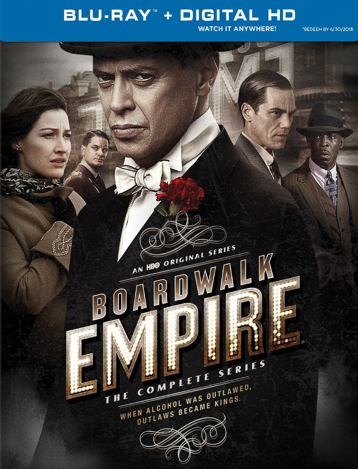 HBO's Boardwalk Empire: The Complete Series Bundle (2010-2014) Vudu HD redemption only