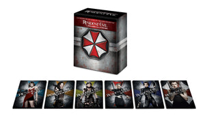 Resident Evil: The Complete 6 Film Collection (2002-2016) Vudu or Movies Anywhere 4K code