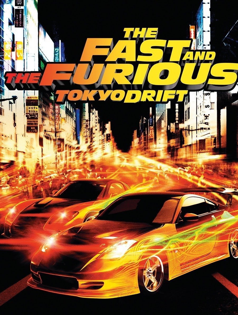 The Fast and the Furious: Tokyo Drift (2006) Vudu or Movies Anywhere HD redemption only