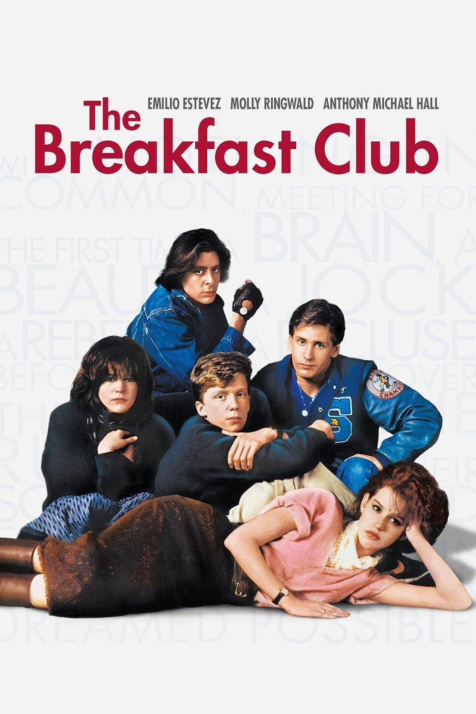 The Breakfast Club (1985) Vudu or Movies Anywhere HD code