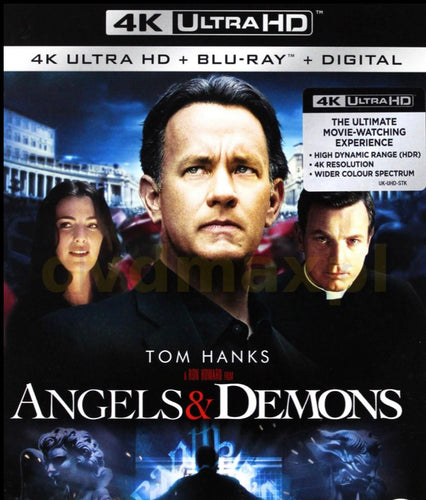 Angels & Demons (2009) Movies Anywhere 4K code