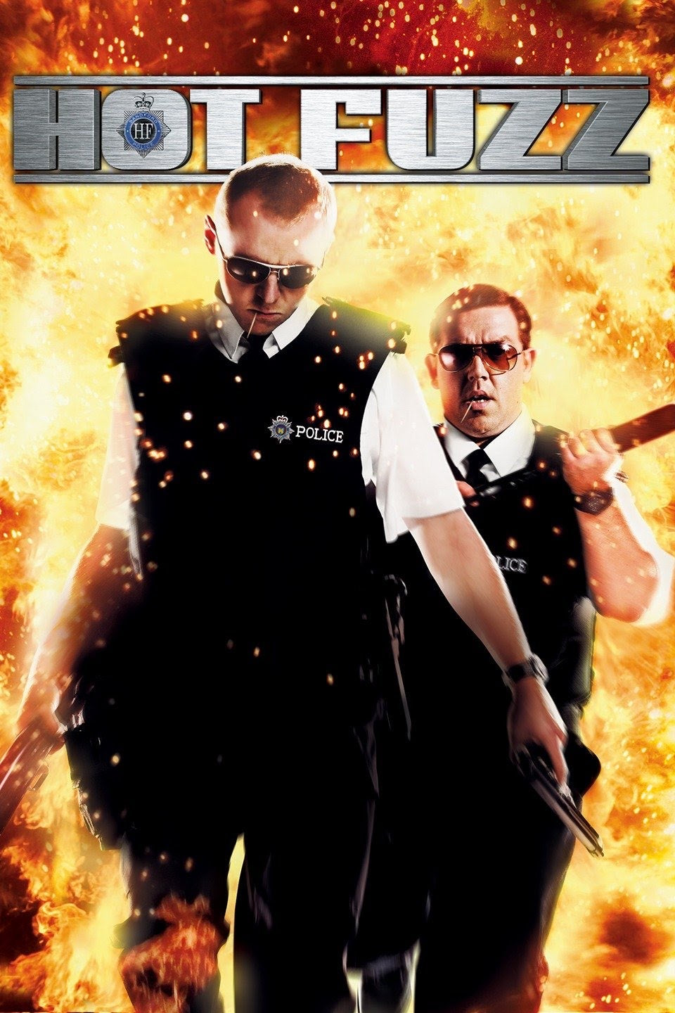 Hot Fuzz (2007) Vudu or Movies Anywhere HD redemption only