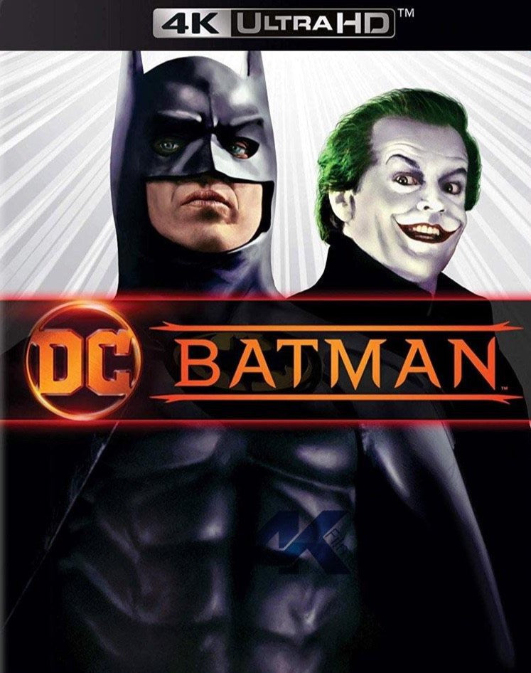 Batman (1989) Vudu or Movies Anywhere 4K code