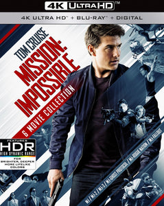 Mission Impossible 6 Movie Collection Vudu 4K code