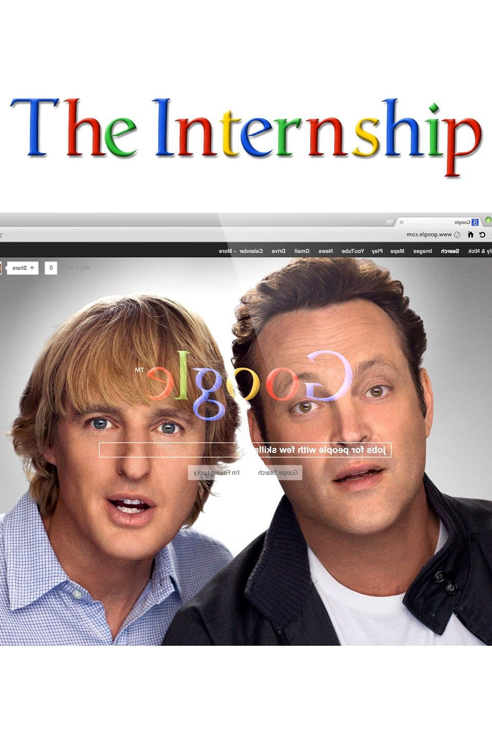 The Internship (2013) Vudu or Movies Anywhere HD code