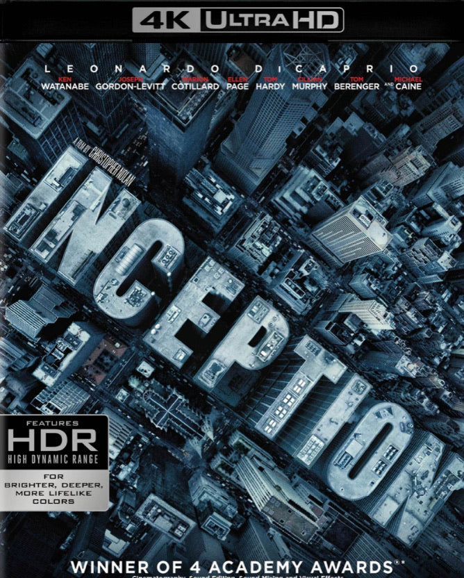 Inception (2010) Vudu or Movies Anywhere 4K code