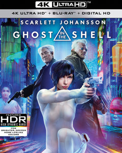 Ghost in the Shell (2017) iTunes 4K redemption only
