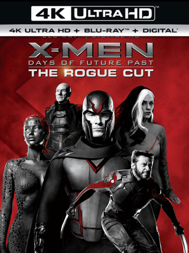 X-Men: Days of Future Past The Rogue Cut (2014) iTunes 4K or Vudu / Movies Anywhere HD code