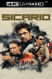 Sicario (2015) iTunes 4K redemption only