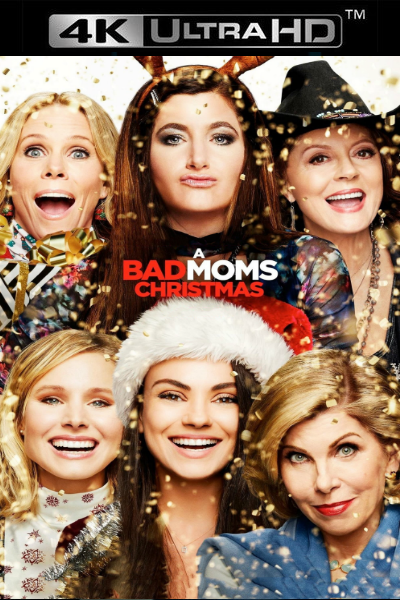 A Bad Moms Christmas iTunes 4K code