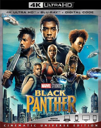 Black Panther (2018: Ports Via MA) iTunes 4K code