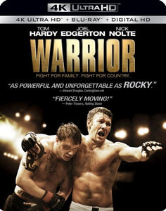 Warrior (2011) Vudu 4K or iTunes 4K code