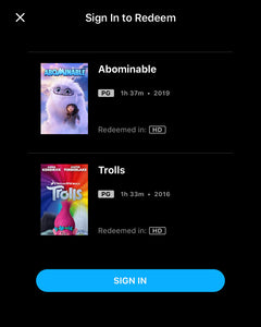 Dreamworks: The 10-Movie Collection Vudu or Movies Anywhere HD code