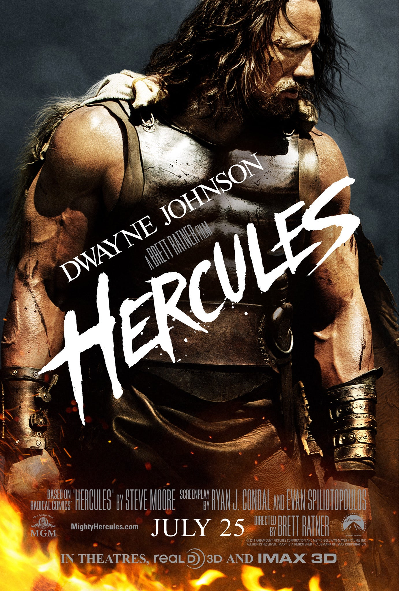 Hercules (2014) iTunes HD redemption only
