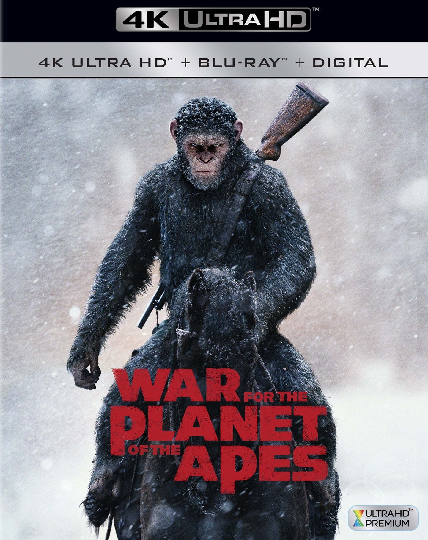 War for the Planet of the Apes (2017) iTunes 4K or Vudu / Movies Anywhere HD code